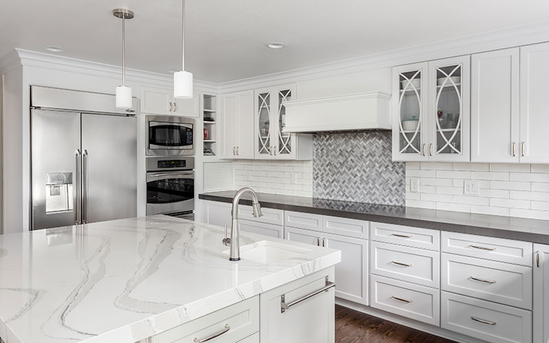 Solid Surface Kitchen Countertops